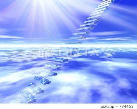 天国への階段のイラスト素材 Pixta