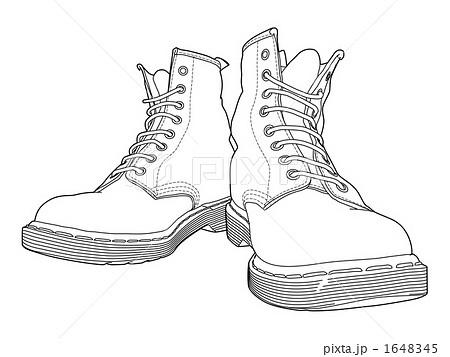 ブーツ イラスト 靴 線画のイラスト素材を検索中(19件中1件 , 19件を表示)