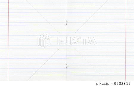 paper ruled line copybook Photos PIXTA – Double Lined Paper