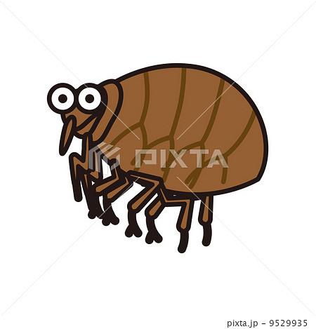 蚤 虫 害虫 挿し絵の写真素材 - ...