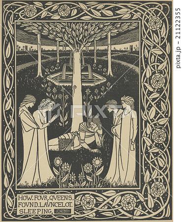 アーサー王の死のイラスト素材 -...