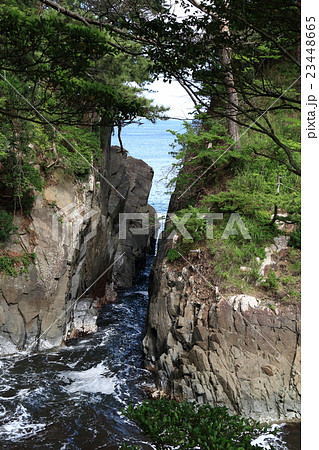 神割崎自然公園の写真素材 - PIX...