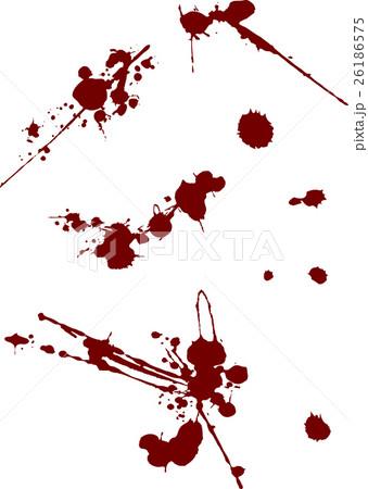 返り血のイラスト素材