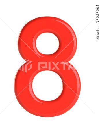 白バック ナンバー 数 数字のイラスト素材 Pixta