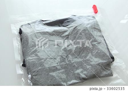 衣類圧縮袋 収納イメージ 旅行イメージ 横