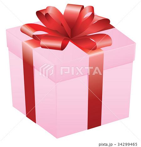 プレゼントボックスのイラスト素材 Pixta