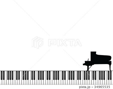 グランドピアノのイラスト素材集 Pixtaピクスタ