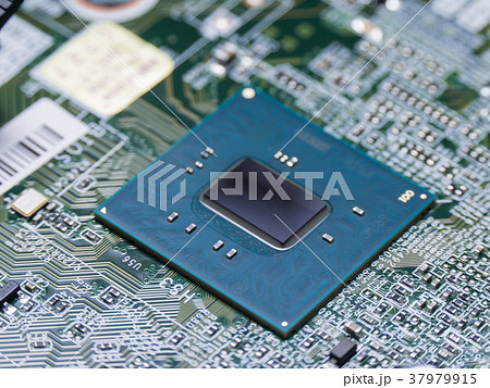 大規模集積回路の写真素材 - PIX...