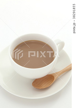 カフェオレの写真素材 Pixta