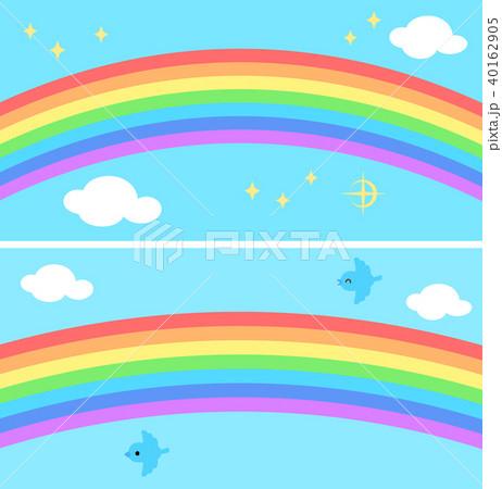 5月こいのぼり鯉のぼりパステルカラー気球虹のイラスト0590007