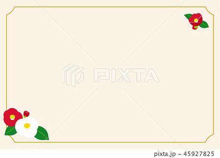 洋風 フレーム 正月のイラスト素材 Pixta