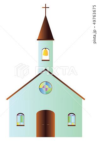 教会 模型 建物 キリスト教のイラスト素材 Pixta